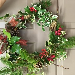 Winter Wreath Workshop and  Lunch